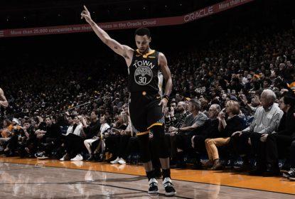 Em jogo com chuva de três pontos, Warriors batem Clippers com bandeja decisiva de Curry - The Playoffs
