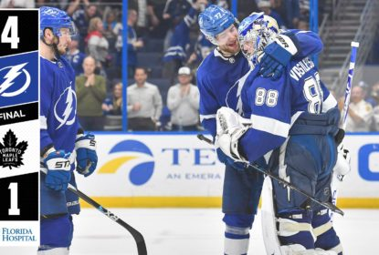 Tampa Bay Lightning derrota Toronto Maple Leafs com Vasilevskiy no auge - The Playoffs
