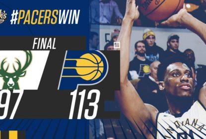 Indiana Pacers vence Milwaukee Bucks e mantém série de triunfos - The Playoffs