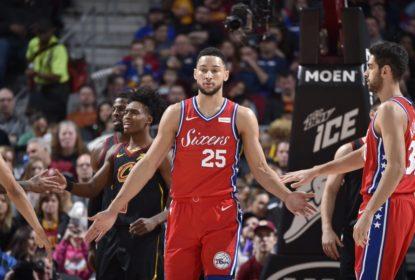 Simmons lidera vitória dos 76ers sobre os Cavaliers