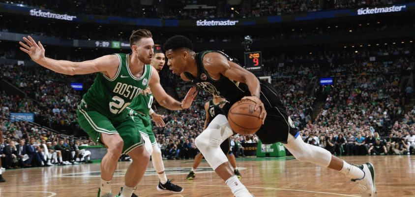 Com bom terceiro quarto de Antetokounmpo, Bucks vencem Celtics em Boston