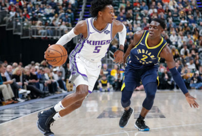 De'Aaron Fox torce tornozelo e vira desfalque no Sacramento Kings - The Playoffs