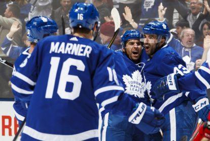 Com gol decisivo de Kasperi Kapanen, Maple Leafs vencem Red Wings - The Playoffs