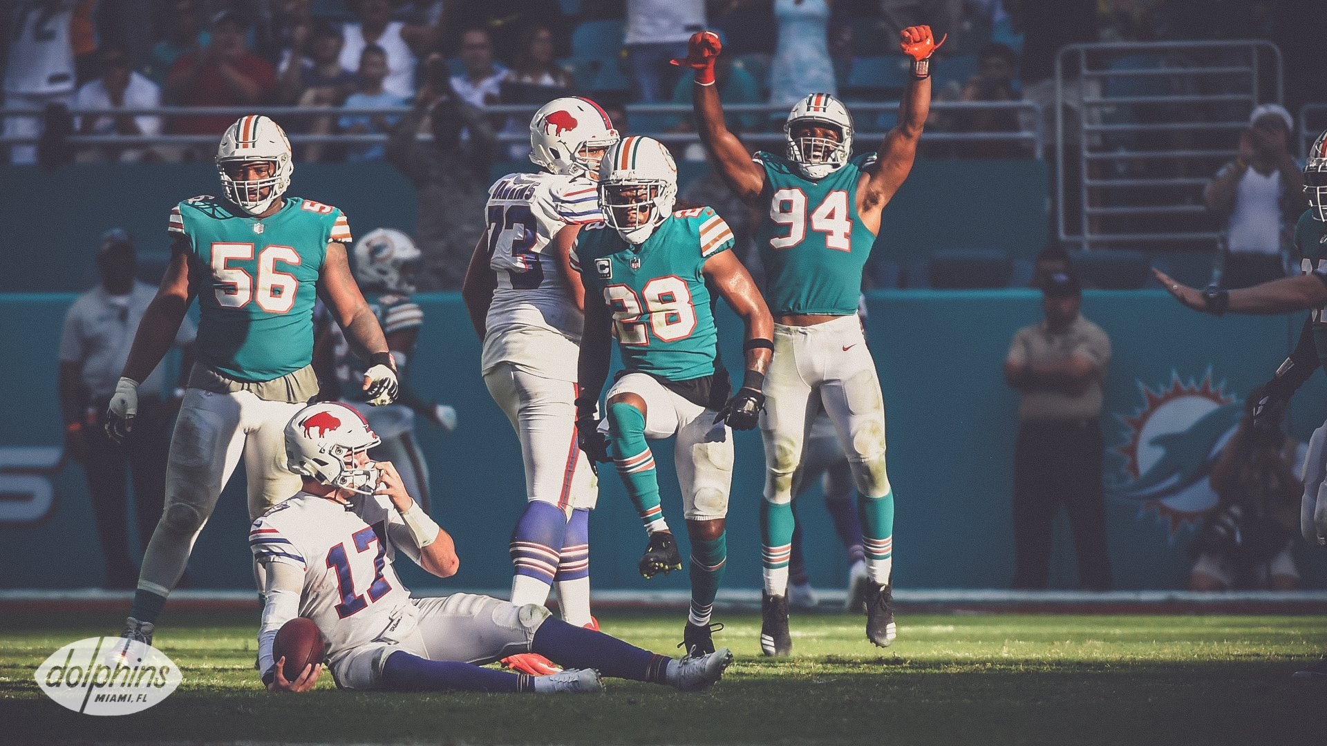 Miami Dolphins vencem Buffalo Bills