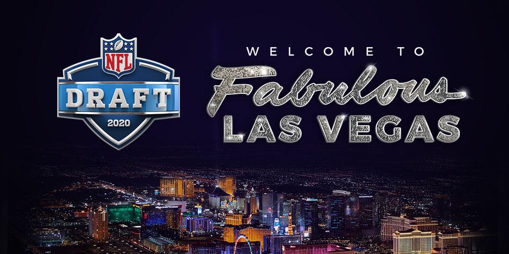 Draft da NFL em 2020 acontecerá em Las Vegas - The Playoffs