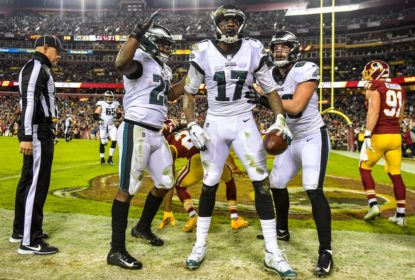Philadelphia Eagles vence Washington Redskins e garante vaga nos playoffs da NFL