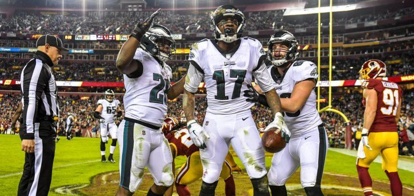 Philadelphia Eagles vence Washington Redskins e garante vaga nos playoffs da NFL