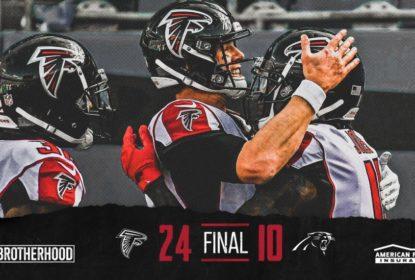 Com bom desempenho ofensivo, Atlanta Falcons vence o Carolina Panthers - The Playoffs