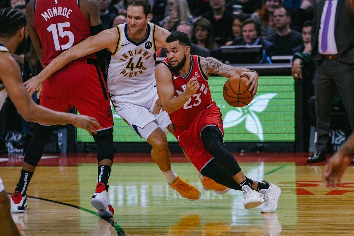 Com grande virada no fim, Raptors mostram força e vencem os Pacers