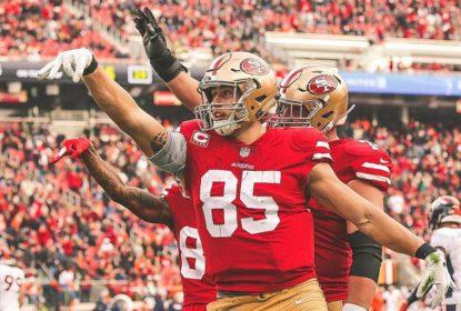 Com grande jogo de George Kittle, 49ers vencem os Broncos em casa - The Playoffs