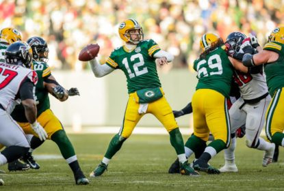 Green Bay Packers estanca crise e vence Atlanta Falcons com tranquilidade