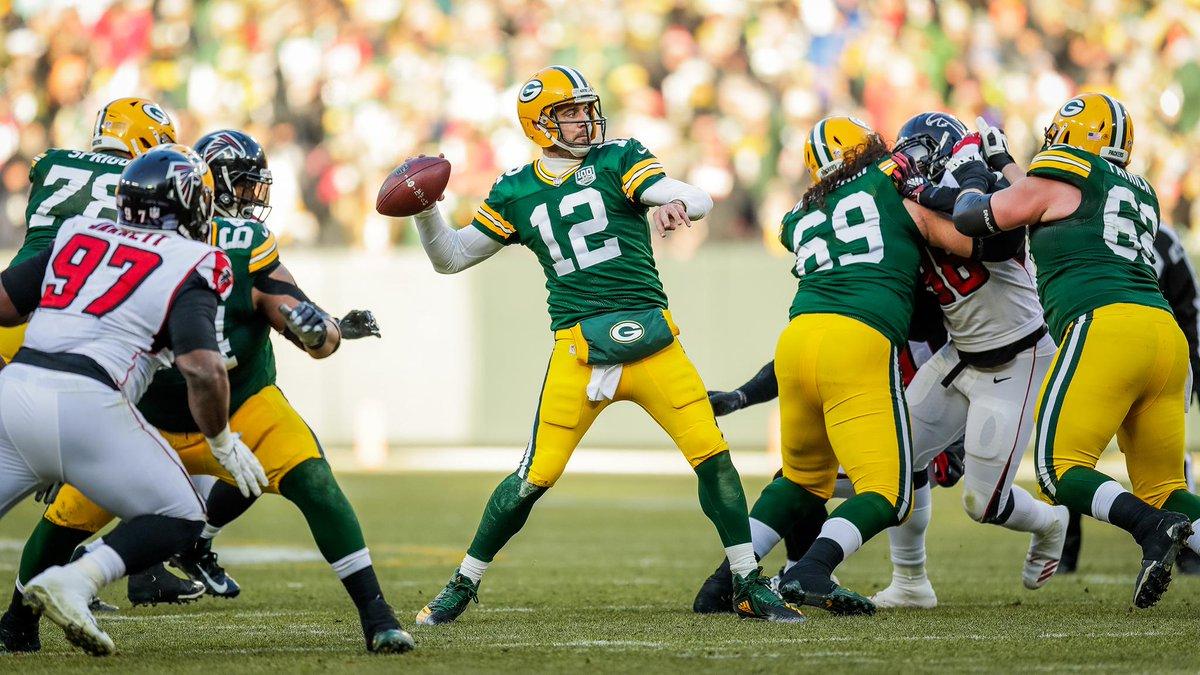 Green Bay Packers estanca crise e vence Atlanta Falcons com tranquilidade - The Playoffs