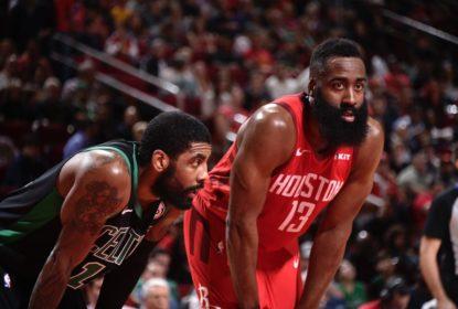 Harden dá show, bate recorde, supera Irving e Rockets vencem os Celtics - The Playoffs