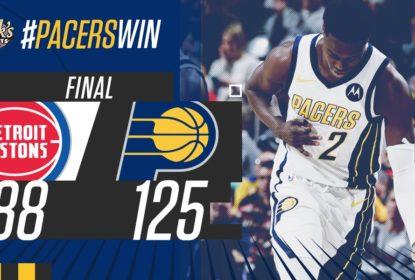 Impiedosos, Pacers fazem mais uma vítima e batem os Pistons com facilidade - The Playoffs