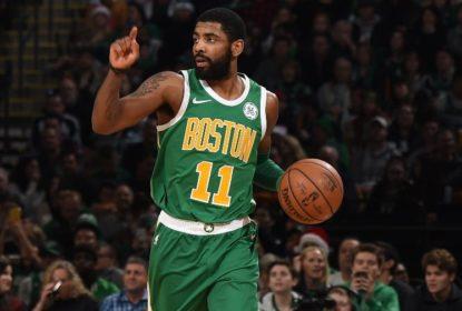 Irving lidera vitória dos Celtics sobre os 76ers no dia de Natal