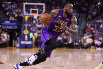 LeBron James não acompanhará os Lakers nas duas próximas partidas como visitante - The Playoffs