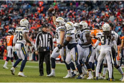 Los Angeles Chargers encerra temporada regular da NFL 2018 com vitória sobre o Denver Broncos na semana 17, mas sem título da AFC West