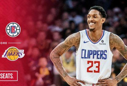 Com show de Lou Williams, Clippers vencem Lakers no primeiro clássico da temporada - The Playoffs