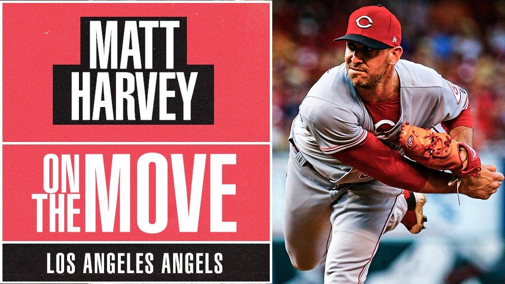 Matt Harvey assina contrato de um ano com Los Angeles Angels