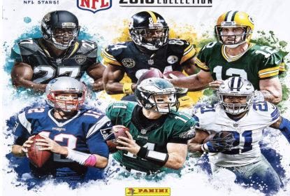 Panini lança álbum de figurinhas da temporada 2018-19 da NFL - The Playoffs