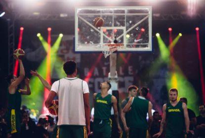 Em treino aberto em São Paulo, seleção brasileira de basquete fala sobre bom momento - The Playoffs