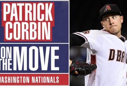 Patrick Corbin assina contrato de seis anos com Washington Nationals