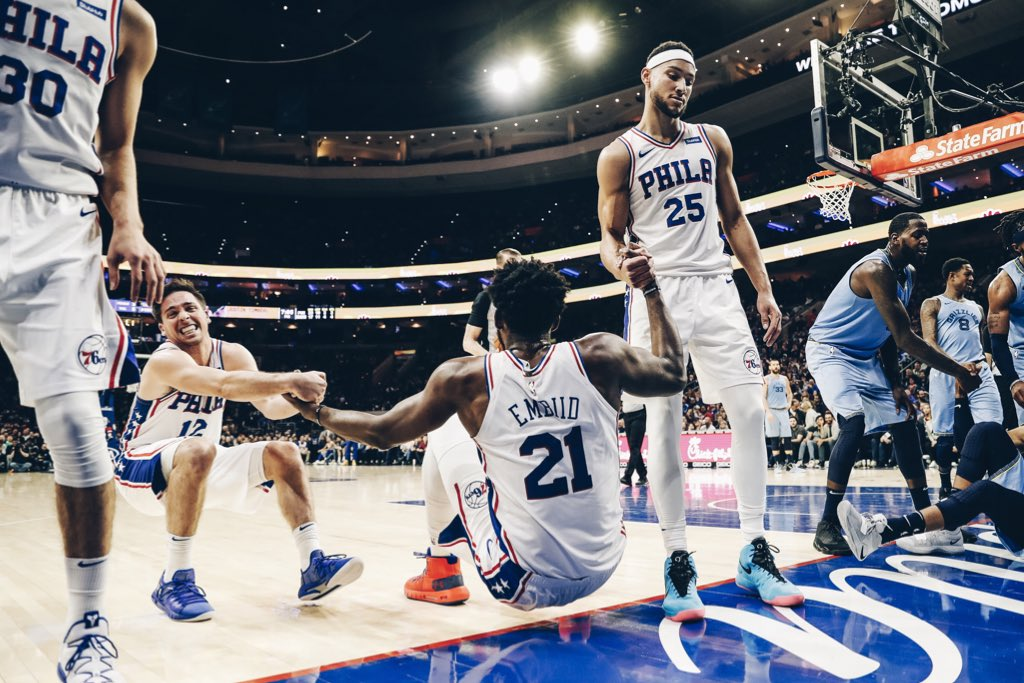 Simmons, Butler e Embiid lideram 76ers em vitória sobre os Grizzlies