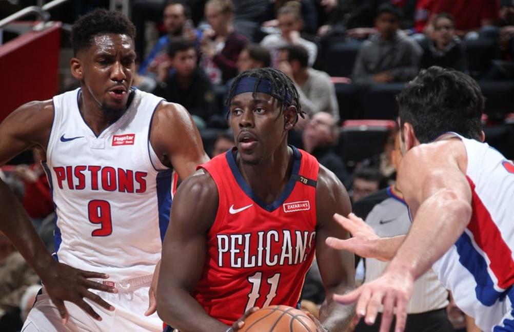 Pelicans vencem Pistons com belas atuações de Jrue Holiday e Julius Randle - The Playoffs