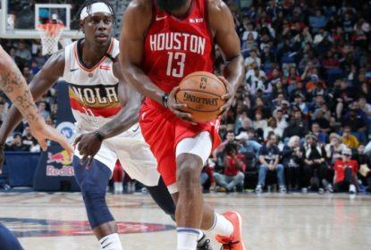 James Harden faz 41 pontos, Anthony Davis vai mal e Rockets vencem os Pelicans