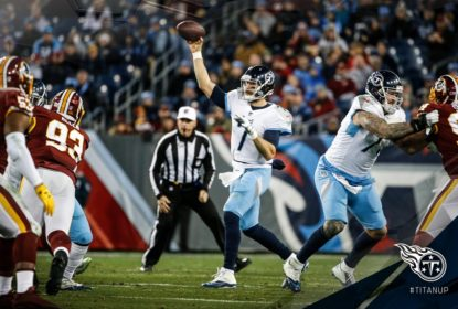 Tennessee Titans vira no fim e vence Washington Redskins - The Playoffs