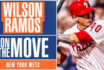 Wilson Ramos assina contrato de dois anos com New York Mets - The Playoffs