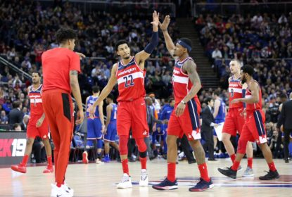 Em Londres, Washington Wizards vence New York Knicks no último lance - The Playoffs