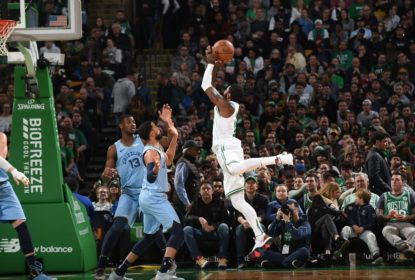 Irving flerta com triplo-duplo, decide no final e Celtics vencem Grizzlies - The Playoffs