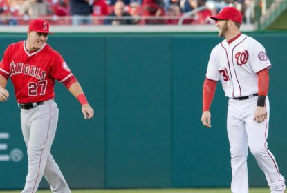 Philadelphia Phillies vê chance de contar com dupla Harper e Trout em 2021 - The Playoffs