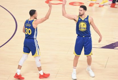 Com atuação monstruosa de Klay Thompson, Warriors batem os Lakers