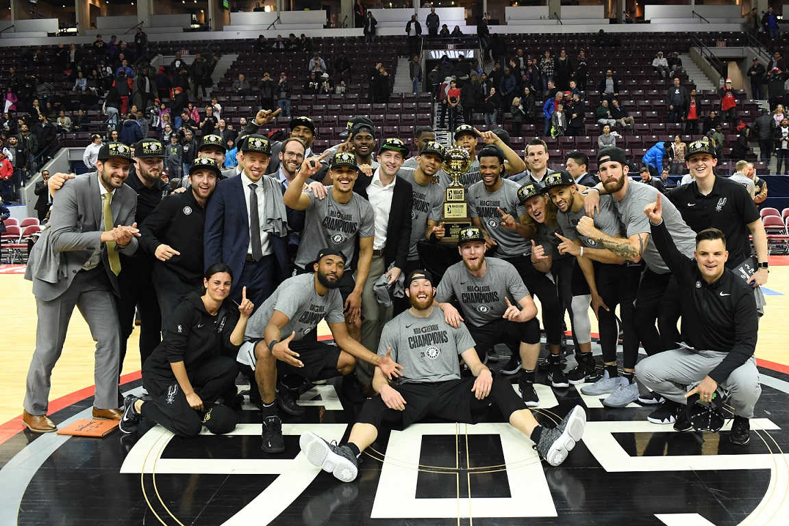 Austin Spurs é o primeiro time da G-League a atuar no Brasil - The Playoffs
