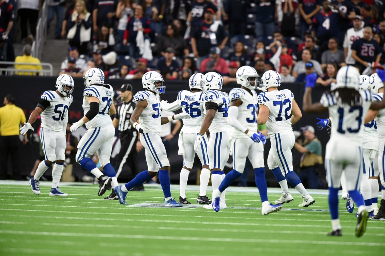 Indianapolis Colts vence o Houston Texans pela rodada de wild card da AFC nos playoffs da NFL