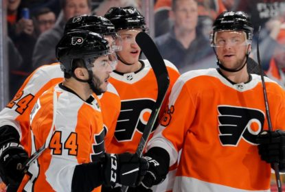 No primeiro compromisso após All-Star Game, Flyers vencem Jets - The Playoffs