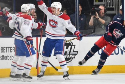 Canadiens vencem e acabam com sequência positiva dos Blue Jackets - The Playoffs