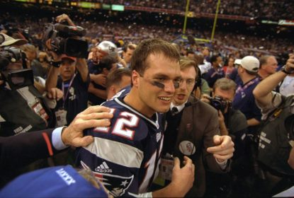 FLASHBACK: Como os Patriots venceram os Rams no primeiro Super Bowl da 'era Brady' - The Playoffs