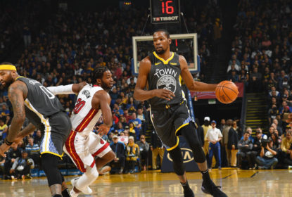 Kevin Durant e Andrew Bogut reforçam os Warriors contra os Spurs - The Playoffs