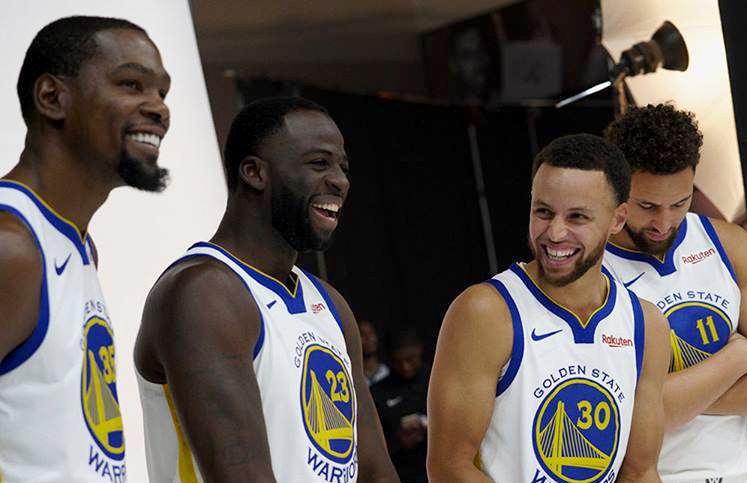 Stephen Curry agiu prontamente para resolver briga entre Kevin Durant e Draymond Green - The Playoffs