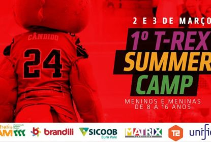 T-Rex promove primeiro Summer Camp Kids de futebol americano - The Playoffs