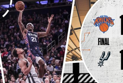 Com show nas bolas de três, New York Knicks vence San Antonio Spurs - The Playoffs