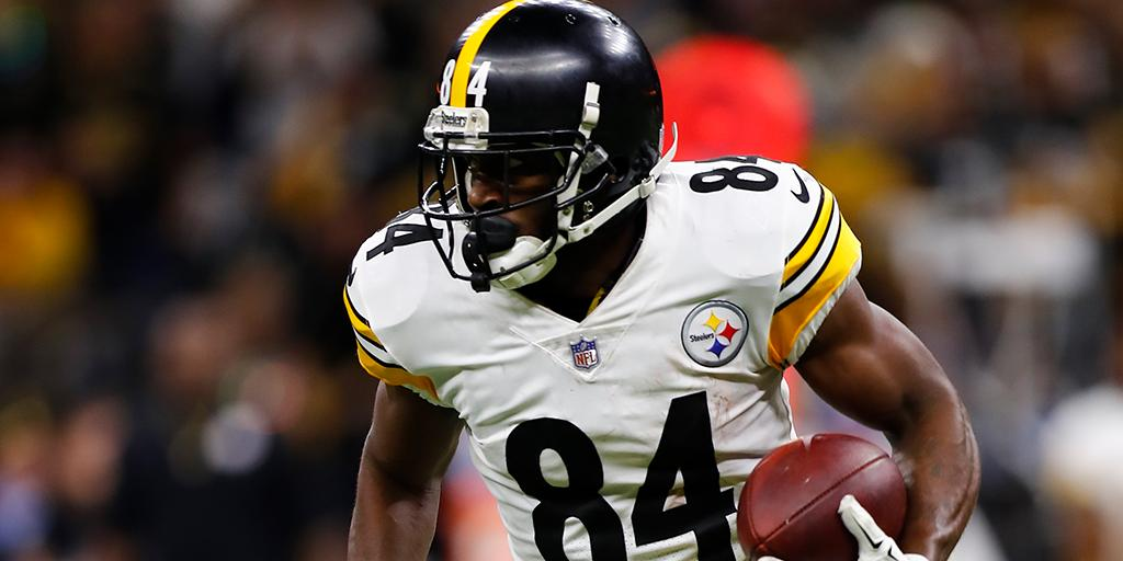 Wide receiver do Pittsburgh Steelers Antonio Brown