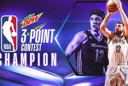 Joe Harris bate Stephen Curry e vence torneio de três pontos do All-Star Weekend