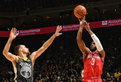 Com grande noite de Chris Paul, Rockets derrotam Warriors