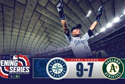 No Japão, Mariners vencem Athletics com recorde de Ichiro Suzuki - The Playoffs