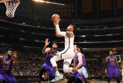 Nets vencem e eliminam oficialmente os Lakers - The Playoffs