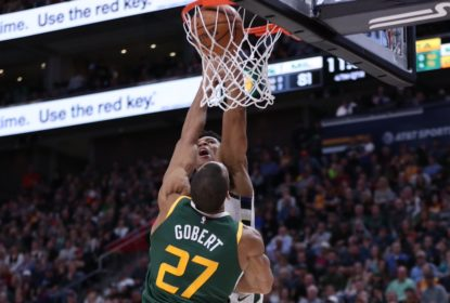 Rudy Gobert é eleito o jogador defensivo na temporada 2018/19 da NBA - The Playoffs